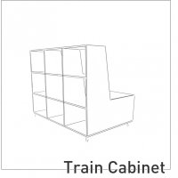 Collectie » Tough Wrap  » Train Cabinet