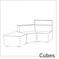 Upholstered » Cubes